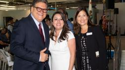 Asm. Rivas with Sen. Hertzberg